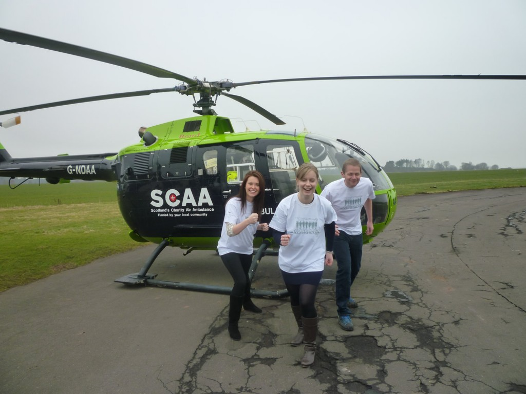 Balfron 10k to help Scotland's Charity Air Ambulance (SCAA)